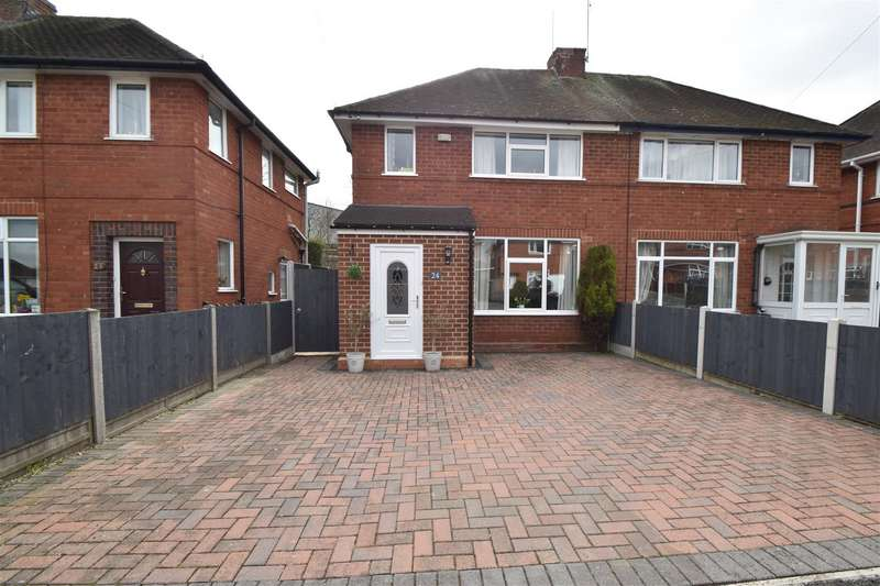 3 Bedrooms Semi Detached House for sale in Gilmour Crescent, Worcester