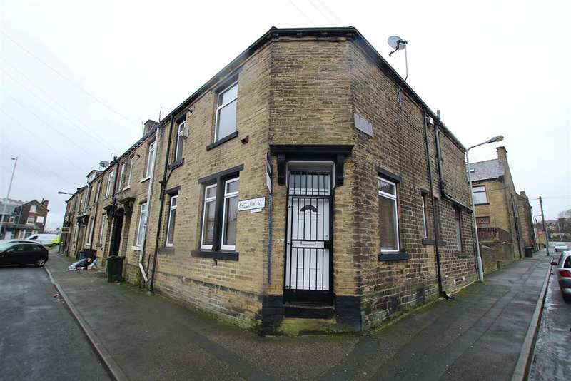 2 Bedrooms End Of Terrace House for sale in Chellow Street, Bradford, BD5 9QG