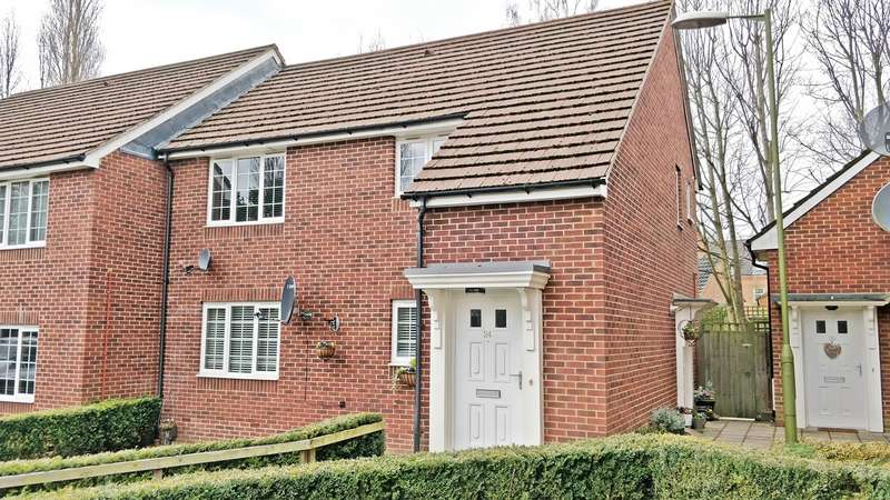 2 Bedrooms Maisonette Flat for sale in Amethyst Walk, Welwyn Garden City, AL8