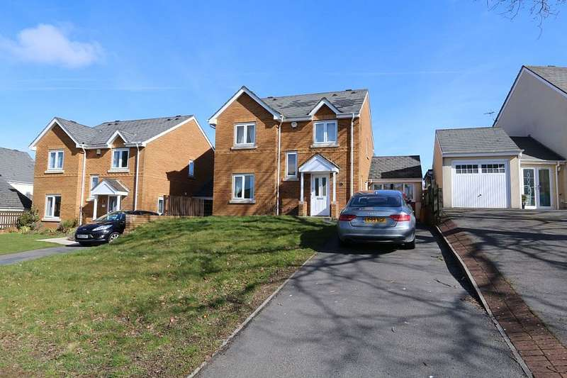 4 Bedrooms Detached House for sale in Heol Iscoed, Fforestfach, Swansea, Abertawe, SA5