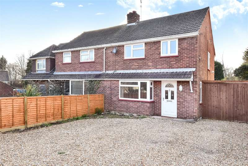 3 Bedrooms Semi Detached House for sale in Crowthorne Road, Sandhurst, Berkshire, GU47
