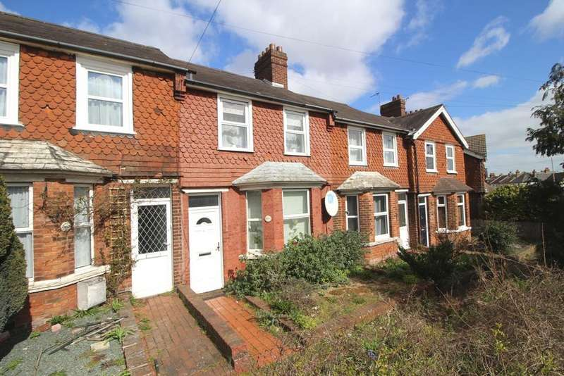 2 Bedrooms Terraced House for sale in Whitley Road, Roselands, Eastbourne BN22