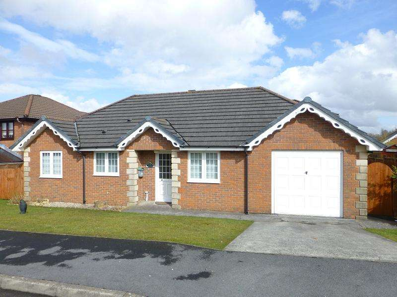 3 Bedrooms Bungalow for rent in Parc Bryn Rhos , Glanamman, Ammanford, Carmarthenshire.