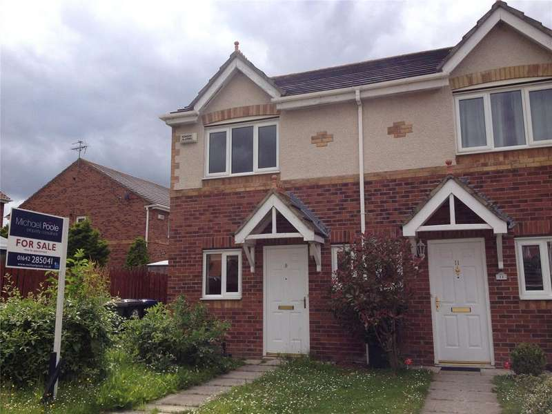 2 Bedrooms Semi Detached House for sale in Magnolia Court, Redcar