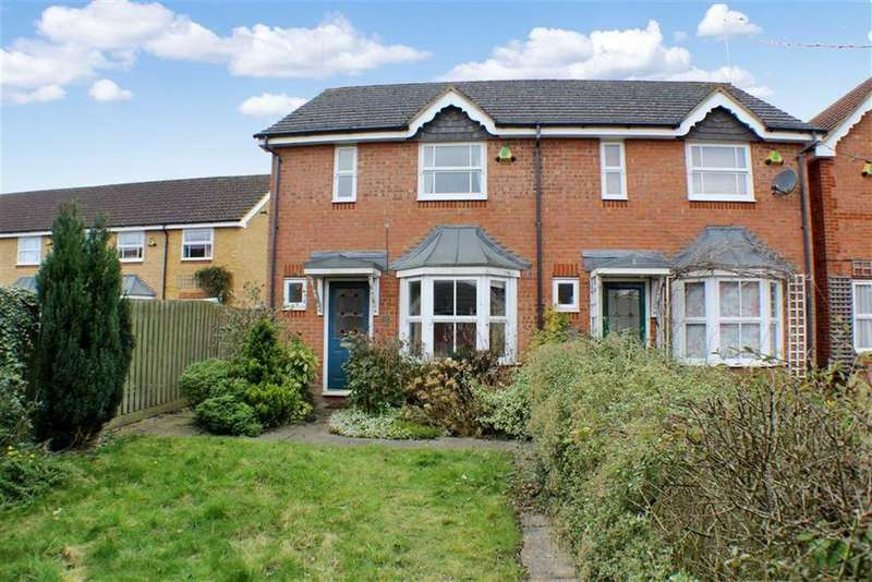 2 Bedrooms Semi Detached House for sale in Cairns Close, St Albans, Hertfordshire