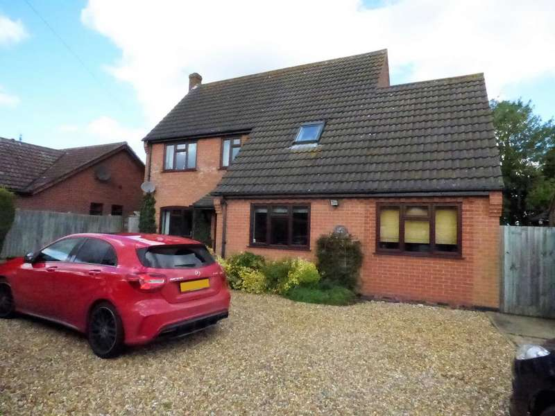 4 Bedrooms Detached House for sale in Long Stratton Road, Forncett St Peter NR16