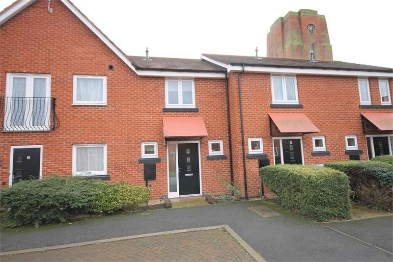 2 Bedrooms Terraced House for sale in Parsons Close, Fernwood, Newark, Nottinghamshire. NG24 3UX