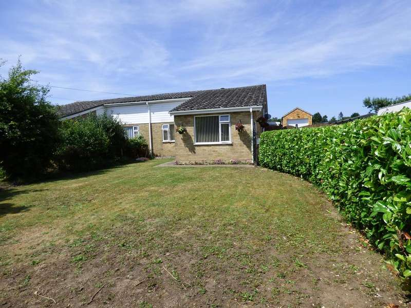3 Bedrooms Semi Detached House for sale in Hall Lane , Wacton NR15