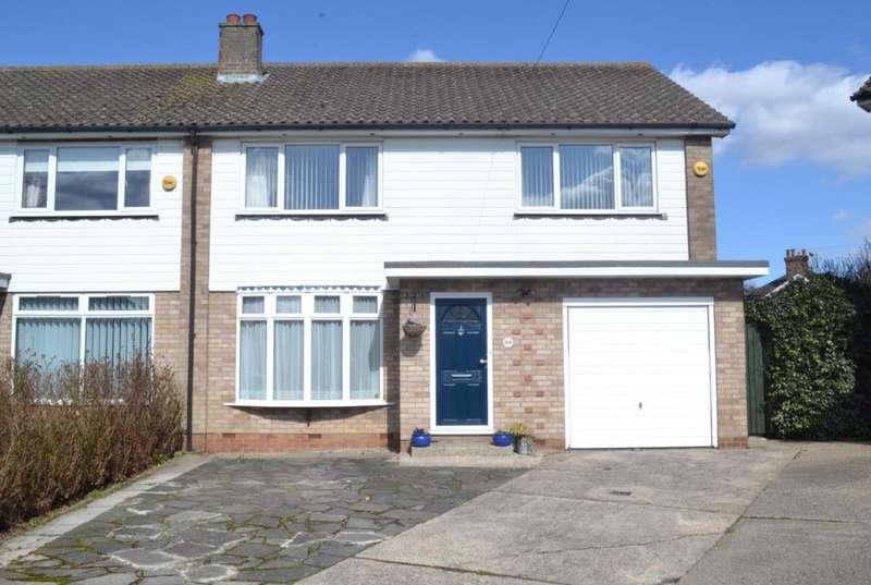 4 Bedrooms Semi Detached House for sale in Rosslyn Road, Billericay, Essex, CM12