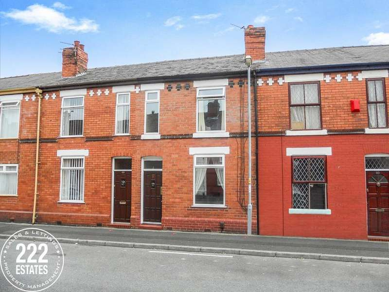 3 Bedrooms Terraced House for sale in Algernon Street, Warrington, WA1