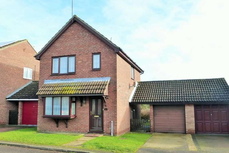 3 Bedrooms Link Detached House for sale in Loddon