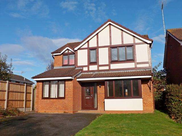 5 Bedrooms Detached House for sale in The Heathers, Evesham