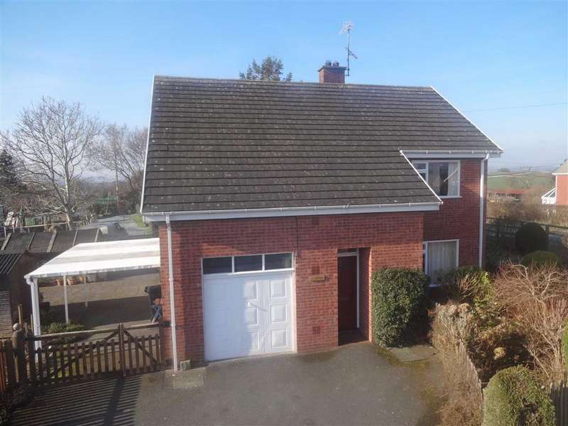 4 Bedrooms Detached House for sale in Cartref, Leighton Road, Forden, Welshpool, Powys, SY21