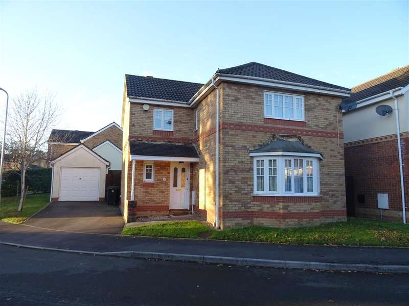 4 Bedrooms Detached House for sale in Woodruff Way, Cardiff