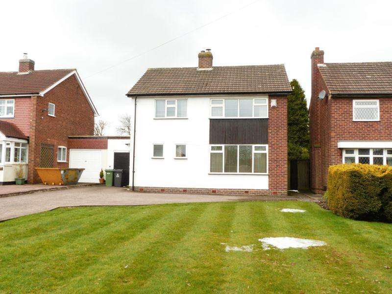 3 Bedrooms Detached House for sale in Chester Road, Streetly