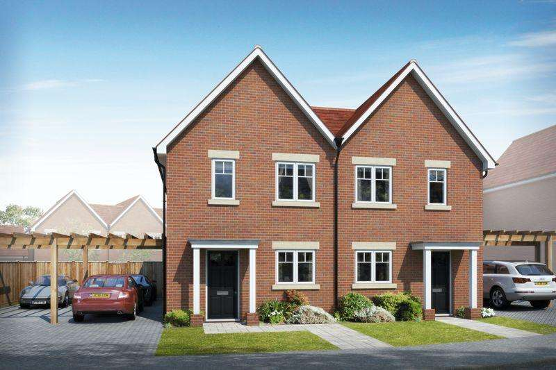 2 Bedrooms Semi Detached House for sale in Beacon Woods, off Cants Lane Burgess Hill, West Sussex