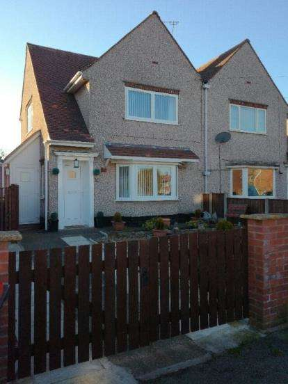 2 Bedrooms Semi Detached House for sale in Tom Wass Road, Sutton-In-Ashfield, Nottinghamshire