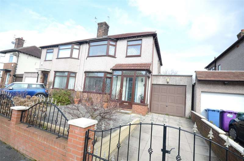 3 Bedrooms Semi Detached House for sale in Kirkmaiden Road, Allerton, Liverpool, L19