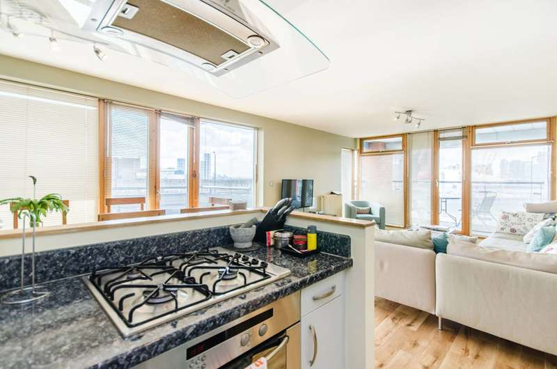 2 Bedrooms Flat for sale in Western Beach Apartments, Royal Docks, E16