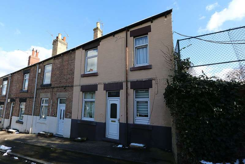 3 Bedrooms End Of Terrace House for sale in Bond Street, Wombwell, Barnsley, South Yorkshire, S73 8JE