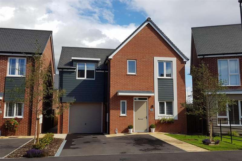 3 Bedrooms Detached House for sale in Arnfield Drive, Hilton, Derby