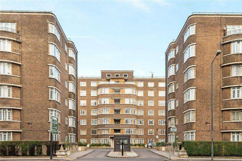 4 Bedrooms Apartment Flat for sale in Regency Lodge, Swiss Cottage, NW3