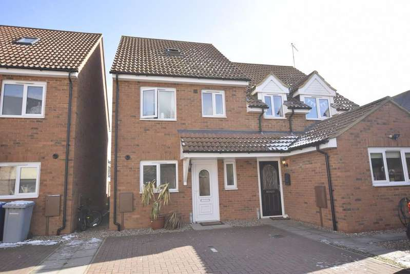 3 Bedrooms Semi Detached House for sale in High Street, Burton Latimer