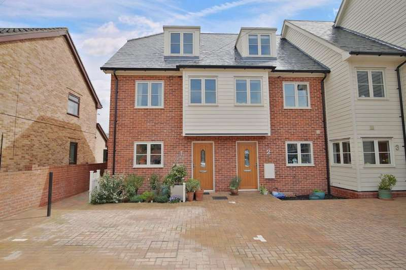 3 Bedrooms Town House for sale in Priory Villas, Priory Walk, Sudbury