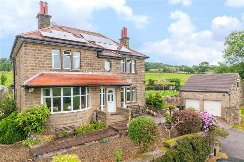 4 Bedrooms Detached House for sale in Nydd Bank, Wilsill, Harrogate, North Yorkshire