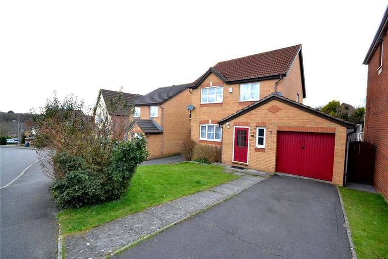 3 Bedrooms Detached House for sale in Peppermint Drive, Pontprennau, Cardiff, CF23
