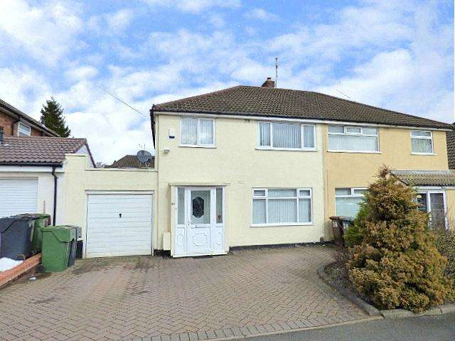 3 Bedrooms Semi Detached House for sale in Waseley Road, Rubery, Birmingham B45