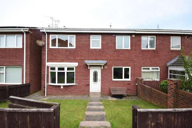 3 Bedrooms Terraced House for rent in Cornbank Close, Hall Farm, Sunderland
