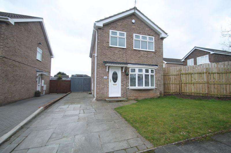 3 Bedrooms Detached House for sale in Annfield Close, Billingham