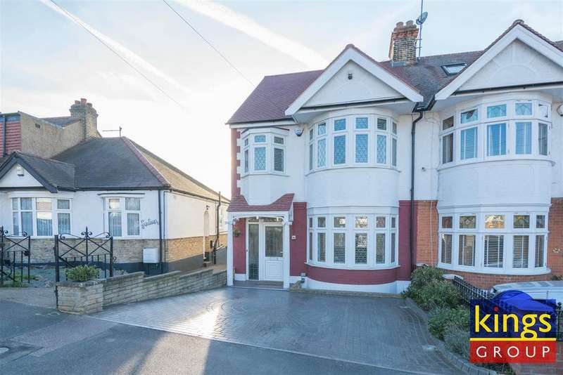 4 Bedrooms Semi Detached House for sale in Sunset Avenue, Chingford