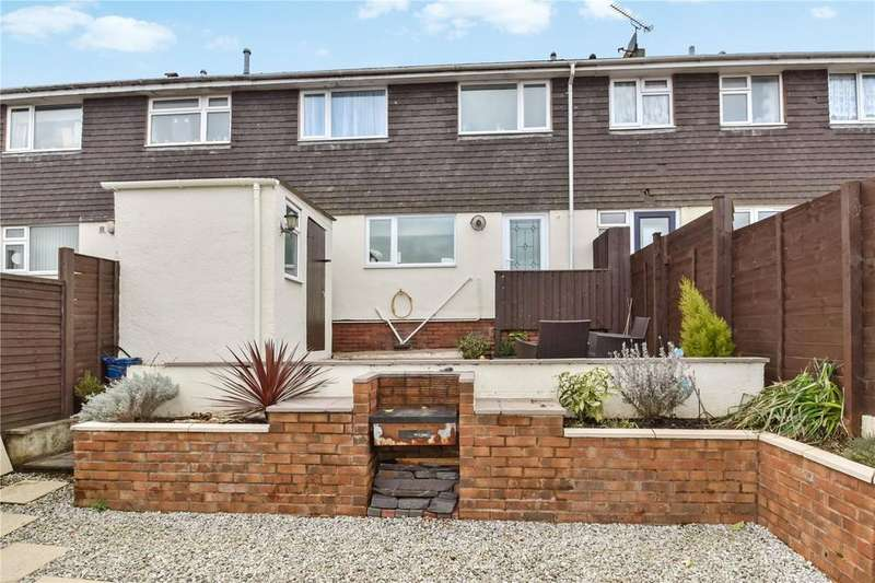 3 Bedrooms Terraced House for sale in Lime Kiln Road, Tiverton, Devon, EX16