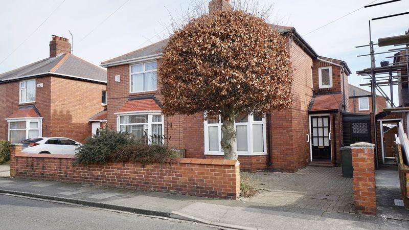 2 Bedrooms Semi Detached House for sale in Cresswell Road, Wallsend