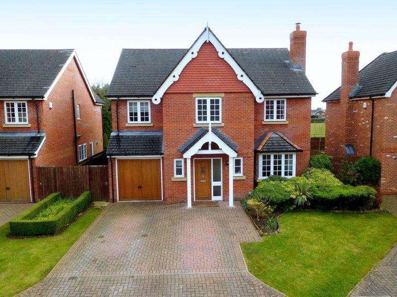 5 Bedrooms Detached House for sale in Warwick Gate, Aston, Nantwich