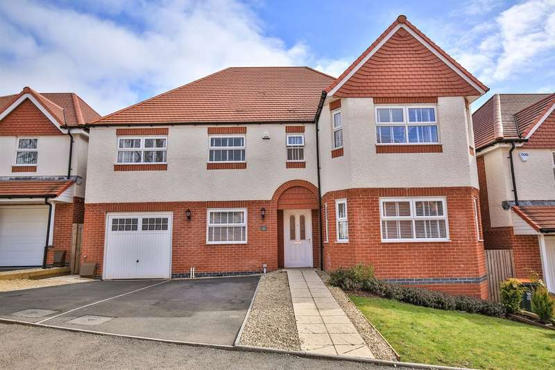 5 Bedrooms Detached House for sale in Ash Tree View, Newport