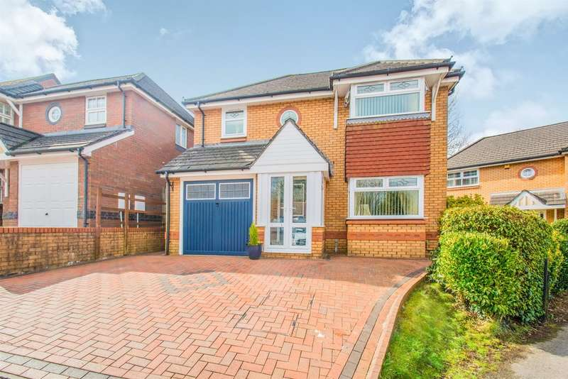 4 Bedrooms Detached House for sale in Patreane Way, Cardiff