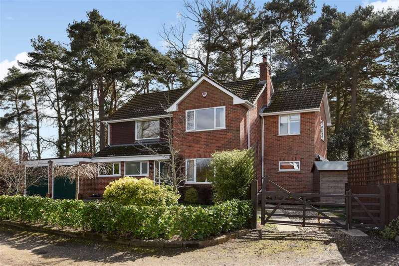 4 Bedrooms Detached House for sale in Arenal Drive, Crowthorne