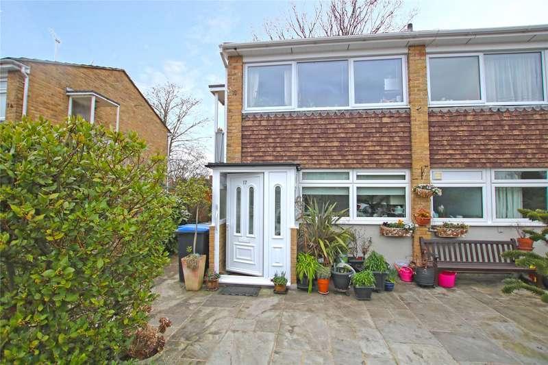 2 Bedrooms Maisonette Flat for sale in Old Orchard, Byfleet, West Byfleet, Surrey, KT14