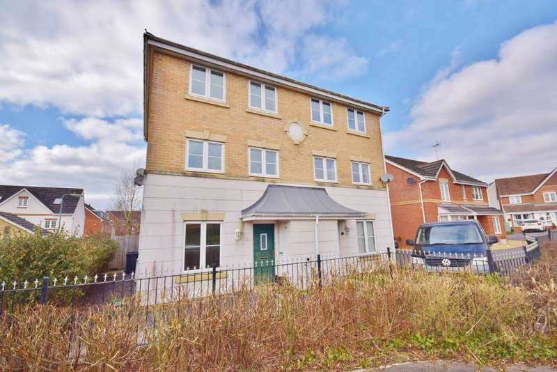 4 Bedrooms Semi Detached House for sale in Beggarwood, Basingstoke, RG22