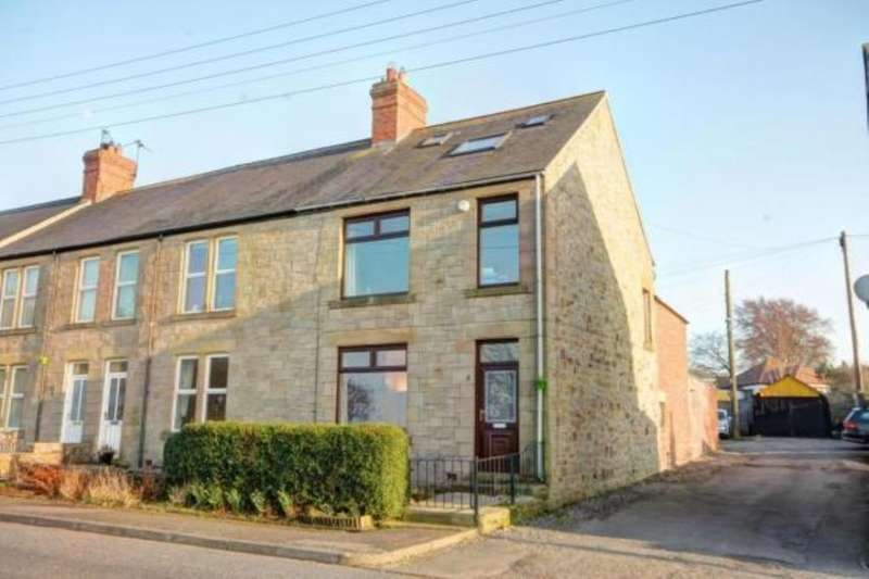 3 Bedrooms Semi Detached House for sale in Rothley Terrace, Medomsley, Consett, DH8