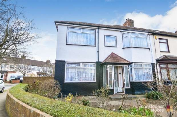 3 Bedrooms End Of Terrace House for sale in Southfield Road, WALTHAM CROSS, Hertfordshire
