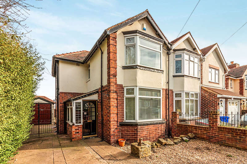 3 Bedrooms Semi Detached House for sale in Dykes Lane, Sheffield, S6