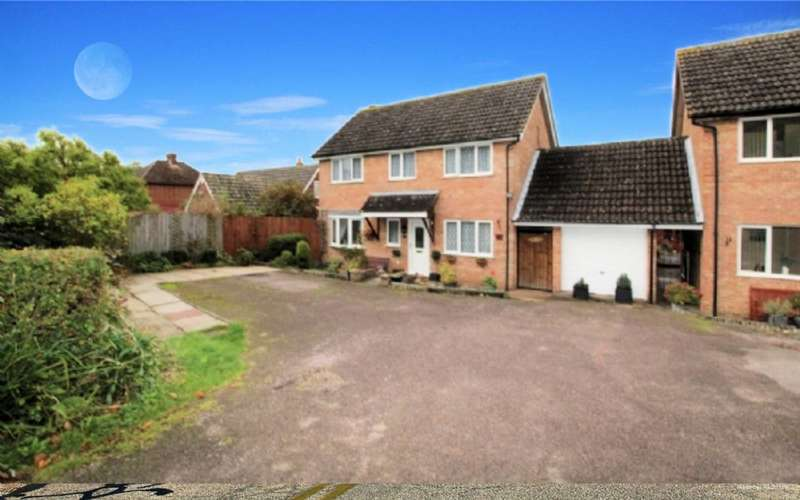 4 Bedrooms Detached House for sale in Loughton Road, Bradwell Village, Milton Keynes