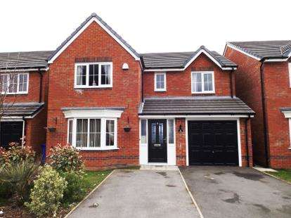 4 Bedrooms Detached House for sale in Greenwood Close, Audenshaw, Manchester, Greater Manchester