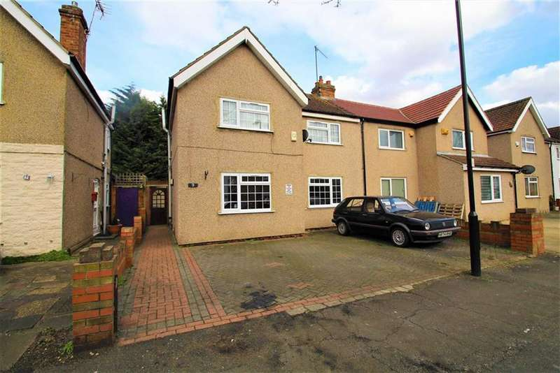 3 Bedrooms Semi Detached House for sale in Costons Avenue, Greenford, Middlesex