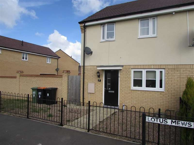 3 Bedrooms End Of Terrace House for sale in Lotus Mews, Dunstable, Bedfordshire, LU6