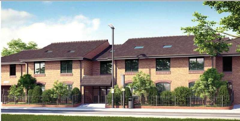 2 Bedrooms Apartment Flat for sale in Park House, 643-651 Staines Road, Bedfont